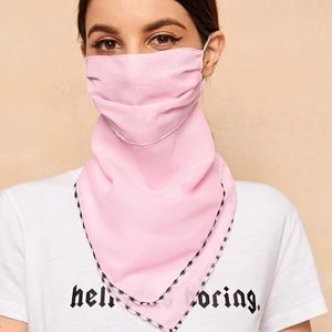 Accessories - 🎉JUST IN! Pink Scarf Face Mask